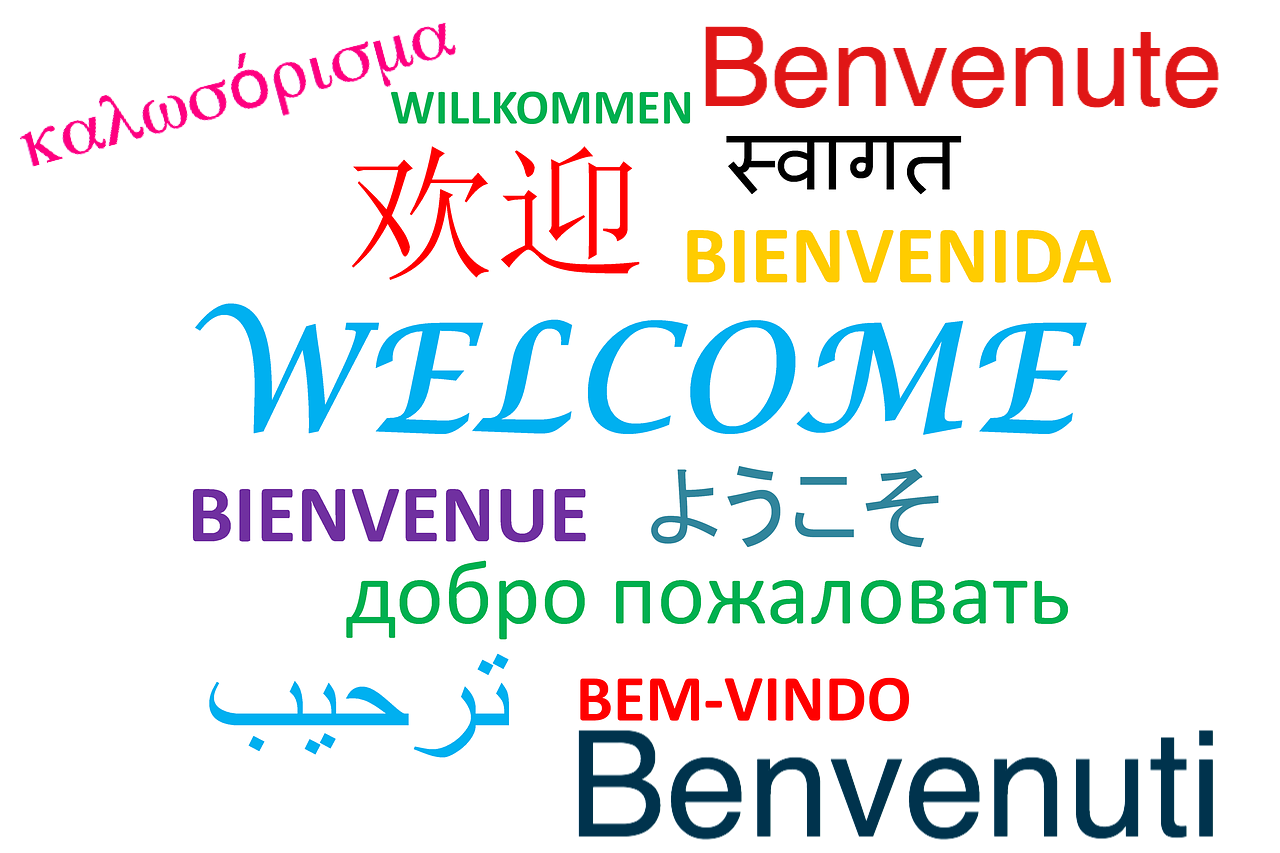 benvenute benvenuti welcome